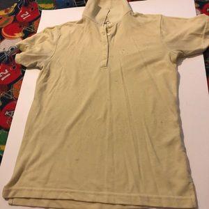 Edward yellow short sleeve polo